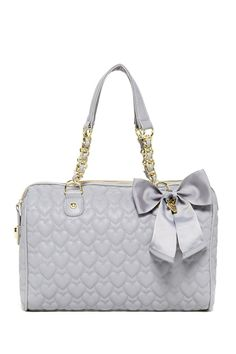 Be My Sweetheart Satchel by Betsey Johnson #bag #purse #heart