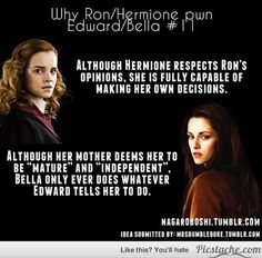Bella Only Does What Edward Says