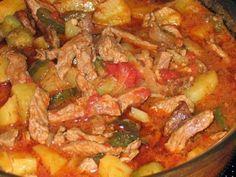 Самые вкусные рецепты: Азу по-татарски