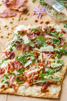 Crispy Prosciutto Flatbread Pizza, and Getting Comfortable Expressing All the Aspects of Yourself