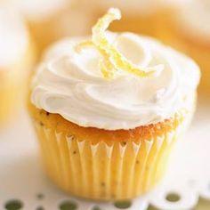 Cupcakes de Gin Tonic - Recetas de cupcakes fáciles