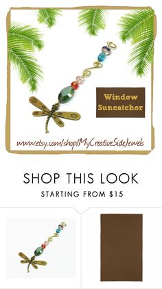"""""""Dragonfly suncatcher"""" by vanessa-stuart-carretta ❤ liked on Polyvore featuring interior, interiors, interior design, home, home decor, interior decorating and Kaleen"""