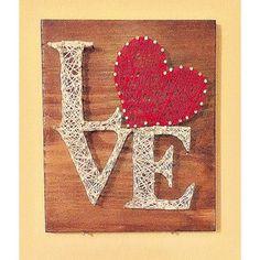 "DIY: Wooden ""Mr"" & ""Mrs"" String Art | Just Being Amelia"