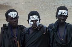13 months > tanzania > maasai - Masai boma near Ngorongoro Crater, tourist village, singing, audio, dancing semi-nomadic Masai, Maasai culture and traditions