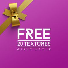 FREE Girly Style Textures for creative designers