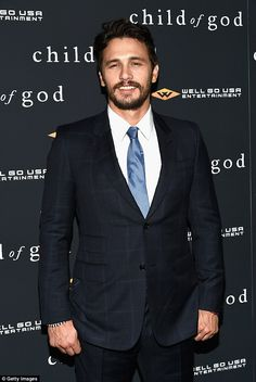 James Franco attends the New York premiere of his new film Child Of God http://dailym.ai/1oaamdf
