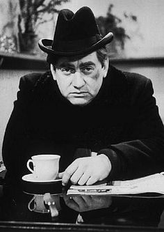 Tony Hancock. In his time this lugubrious comedian was the funniest thing on TV by a mile.