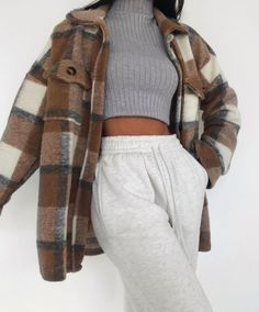Lazy Outfits, Cute Comfy Outfits, Mode Outfits, Retro Outfits, Stylish Outfits, Stylish Clothes For Women, Teenager Outfits, Winter Fashion Outfits, Fall Winter Outfits