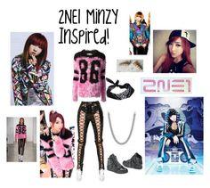 """2NE1Minzy Inspired Outfit!"" by artbuilder1234 ❤ liked on Polyvore featuring мода, David Yurman, ASOS, Jeremy Scott и adidas"