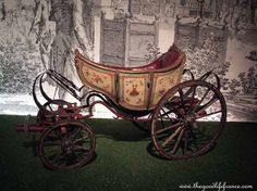 Child's carriage from the Royal family collection