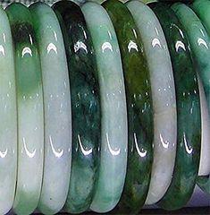 Jadeite A Jade Himalayan natural & untreated mm inner diameter Jade Jewelry, Pearl Jewelry, Jewelry Art, Jewelry Accessories, Jewellery, Jade Ring, Rocks And Minerals, Shades Of Green, Bangles