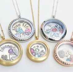 Origami Owl Necklace <3