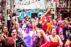 The Morning Gloryville sober dance movement has spread across the world. Photo credit: Manolo Ty