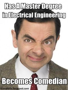 @Husam Abu Sarris is a Mr Bean fan :)    Pics With Words: Mr. Bean is an Engineer! (Did you know that ?!)