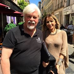 #Captain #PaulWatson and his #wife #YanaRusinovich in #Cannes! #@seashepherd does amazing work against #whalers and raising awareness for #sea #conservation #whalewars #starstuck #environmental #iphone6 #mingscannes2015  (at 68th Cannes Film Festival 2015)