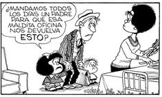 And mom comes back home even in worst shape. Sarcastic Quotes, Funny Quotes, Mafalda Quotes, H Comic, Motivational Phrases, Sewing Projects For Kids, Humor Grafico, Words To Describe, Funny Comics