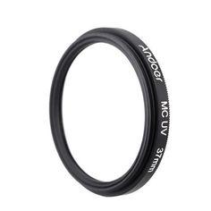 Andoer 37mm Ultrathin Multi-Coated MC UV Ultra-Violet Filter Lens Protector for Canon Nikon DSLR Camera