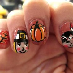 nails for thanksgiving - Bing Images