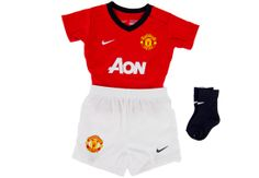 Nike Manchester United Infant Home Kit 2013-2014...Available at SoccerPro.