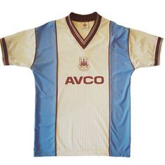 West Ham United 1987 1989 Away Shirt £34.99. Retro Football Shirts 11399d956