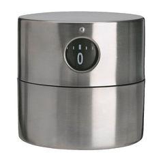 ORDNING Timer, stainless steel