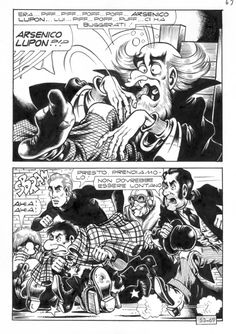Magnus - Alan Ford 53 Comic Art
