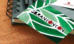 Diseño de logotipo, etiquetas y tarjetas de visita para la marca de ropa infantil Sarantontón
