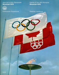 1976 Olympic Games | Montreal 1976 Olympic Games Opening Ceremonies Program | Flickr ...