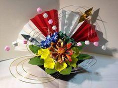 「正月 折り紙」の画像検索結果 Origami, Japanese Tea House, Washi, Paper Flowers, Xmas, Table Decorations, Crafts, Tea Houses, Home Decor