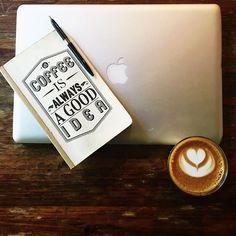 Coffee is always a good idea. Flat white. Mac