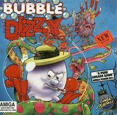 Bubble Dizzy - Amiga 500 Retro Video Games, Video Game Art, Retro Games, Gaming Computer, Arcade Games, Character Art, Bubbles, Pure Products, Classic