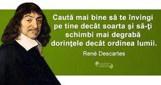 Citat Rene Descartes Thoughts, Movies, Ideas