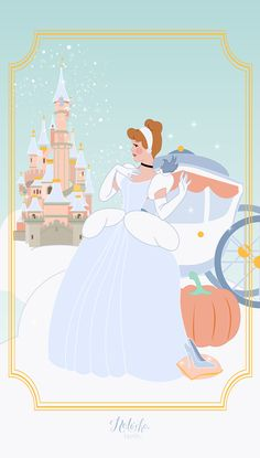 New wallpaper phone disney cinderella dreams 66 ideas Deco Disney, Art Disney, Cinderella Disney, Disney Kunst, Disney Love, Disney Pixar, Disney Girls, Disney Illustration, Illustrations