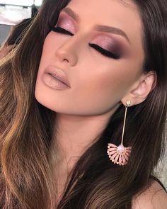 Purple Make up Makeup 2018, Sexy Makeup, Pink Makeup, Beauty Makeup, Perfect Makeup, Gorgeous Makeup, Love Makeup, Best Makeup Tips, Best Makeup Products