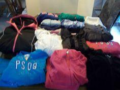 21 Piece Lot Girls Wardrobe - Size 12 - 14 - Gap - Aeropostale -Children's Place