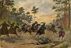 Real Cossacks with the Prussian cavalry