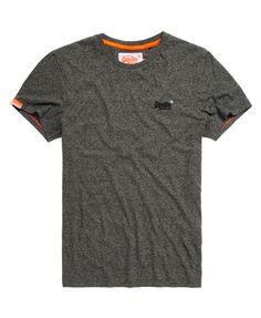 503f613d4f99 Mens - Orange Label Vintage Embroidery T-shirt in Flint Grey Grit