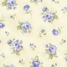 Ellie Ann Blue Petite Rose by Eleanor Burns for por LilyRoseQuilts