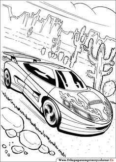 93 best wheels wheels images coloring pages coloring books 1956 Cadillac Fleetwood Interior dibujos de hot wheels para imprimir y colorear adult coloring pages race car coloring pages