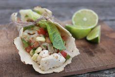 Alaskan Halibut fish tacos-gluten free with homemade pico de gallo and corn tortillas Fish Recipes, Seafood Recipes, Yummy Recipes, Yummy Food, Tasty, Halibut Fish Tacos, What Is Gluten Free, Food Is Fuel, Healthy Food Choices