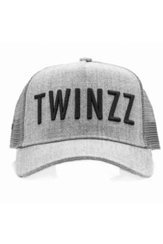 d5216a8f Twinzz - 3D Mesh Trucker - Grey/Black | Have you seen the latest snapbacks