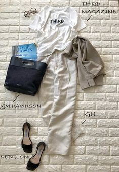 レプシィムのジャケットとTシャツを合わせたカジュアルコーデ Tomboy Fashion, Fashion Outfits, Womens Fashion, Fashionable Outfits, Ladies Fashion, Street Style 2017, Grey And Beige, Spring Fashion, Summer Outfits