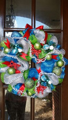 Christmas wreaths made to order.  This one sells for only $65.  Just comment your order or inbox me on facebook.