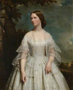 Ann Margaret Forbes Leslie, Wife of Alexander Forbes Irvine, 20th Laird of Drum by John Graham-Gilbert
