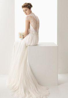 Soft by Rosa Clará 113/UNAX Wedding Dress - The Knot