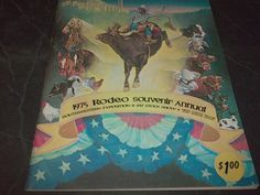 Vintage Rodeo Program Fort Worth StockYards  Amon Carter Square Stock & Fat Show