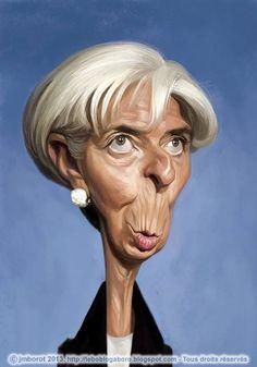 Pinned using PinFace! Christine Lagarde Tổng giám đốc quỹ tiền tệ ÌMF người Pháp