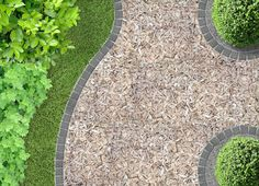 Full size of diy garden paths ideas cottage pathway pictures path mulch gravel wooden crazy paving Concrete Patios, Concrete Cost, Wooden Walkways, Concrete Materials, Concrete Finishes, Concrete Stone, Path Design, Garden Design, Exposed Aggregate Driveway