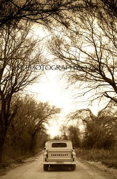 Western Rustic Texas Country Chevy Vintage Truck by 3LPhotography