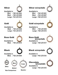 A locket for every budget! Let me help you design your story in it!   www.MaryLacher.OrigamiOwl.com  Designer Mentor #38000